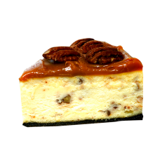 Pecan Cheese cake Slice