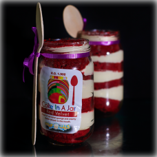 Red Velvet Jar