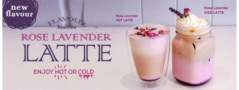 Rose Lavender Latte