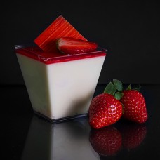 Strawberry & White Chocolate Mousse