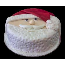 Santa Orange Cake